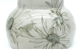 Sunflower and Rudbekia Vase