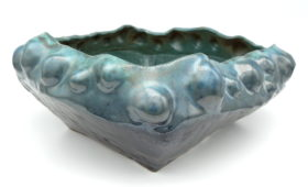 Turquoise and Black Bowl